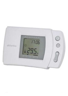 Climadesign termostato digital programable inalambrico - Termostato inalambrico caldera ...