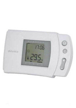 Climadesign termostato digital programable inalambrico for Termostato digital calefaccion programable