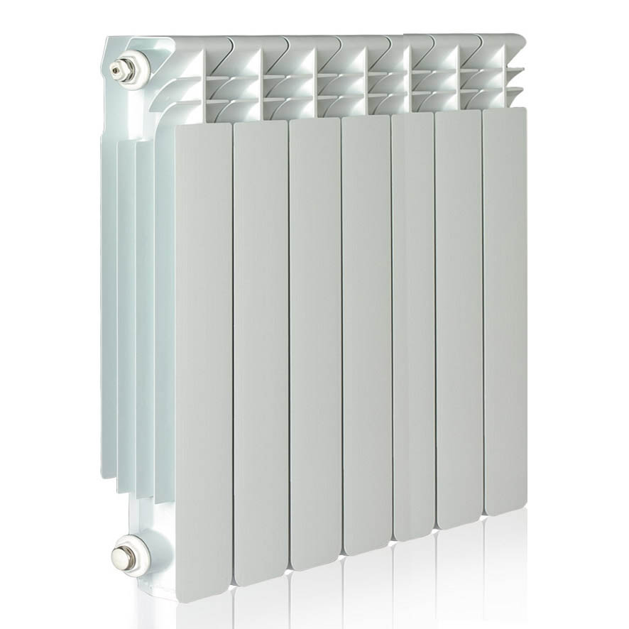 Climadesign radiador helyos de 7 elementos calefacci n - Radiador agua calefaccion ...