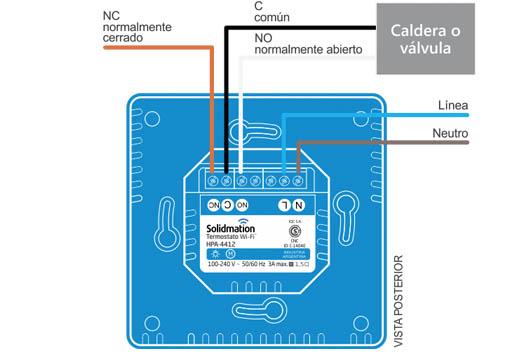 Climadesign termostato wifi para calderas domotica for Termostato caldera wifi